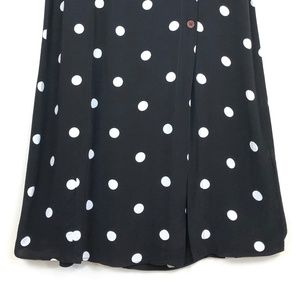 1039545af1f7f0 Free People Skirts - Free People Retro Love Midi Skirt Polka Dot